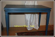 Side table ASCP- Aubusson Blue