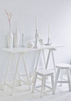 Do you breathe a sigh of relief at an all white room? Aesthetic Colors, White Aesthetic, All White, Pure White, White Feed, White Light, White Room Decor, Blanco White, Luminaire Led