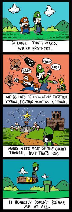 Dan Zazzera Good ol' Luigi. Daww..