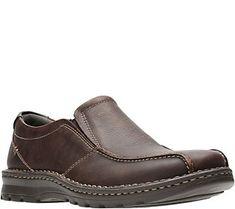 d94d0bf1c61 Clarks Men s Leather Loafers - Vanek Step