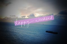 happy weekend inspired to share