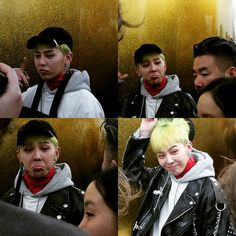 161207 G-Dragon at Dover Street Market in London (peaceminusone launch Dec 2016)