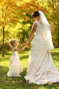 Bride and daughter <3