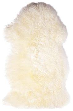 JoJo Maman Bebe Baby Lambskin   Ivory