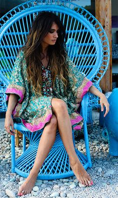 What to Wear: India Vacation style Beaded Textile Tunic