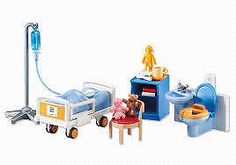 Playmobil #6444 Childs Hospital Room! New Factory Sealed!