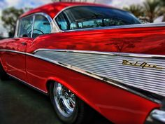 Chevy Bel Air' by i-foton 1957 Chevy Bel Air, Chevrolet Bel Air, My Dream Car, Dream Cars, Old Fashioned Cars, Abandoned Cars, Abandoned Vehicles, Classy Cars, Classic Chevy Trucks