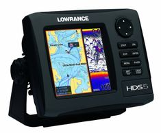 Lowrance HDS-5 GEN2 Plotter/Sounder, with 5-inch LCD, Nautic Insight (Offshore) Cartography, and 50/200KHz Transducer... $713.08 (5% OFF)