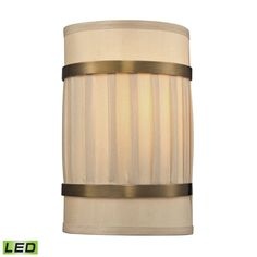 View the Elk Lighting 31385/2-LED Luxembourg 2 Light LED Wall Sconce at LightingDirect.com.