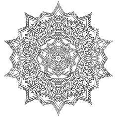 ԑ̮̑♦̮̑ɜ~Mandala para Colorear~ԑ̮̑♦̮̑ɜ Book of Lines, Thomas Hooper Mandala Coloring Pages, Colouring Pages, Adult Coloring Pages, Coloring Books, Trippy Drawings, Colorful Drawings, Mandala Pattern, Mandala Art, Thomas Hooper