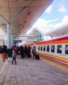 SGR , Mombasa Terminus . . . . . . . . #SGR #Kenya #travel
