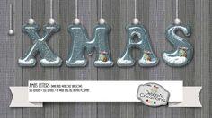 Xmas Letters by Debora's Creations (CU)