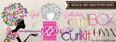Natural Hair Subscription Services - Longing4Length.com #naturalhair #curlkit #curlbox #onyxbox #curlcollection