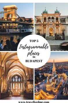 TOP 5 INSTAGRAMMABLE PLACES TO SEE IN BUDAPEST - @travelisedme - where to go and what to see in a weekend