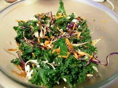 Specific Carbohydrate Diet For Life: SCD Recipe: Kale Salad