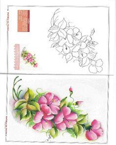 riscos para pintura - carla benchea - Álbumes web de Picasa