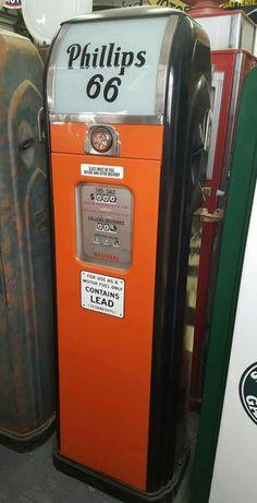 Original Phillips 66 National Gas Pump