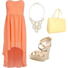 """Summer Wedding Idea"" by stylebynohea on Polyvore"