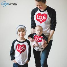 Wholesale Clothing and Blank Apparel Online Store Valentines Outfits, Valentines Day Shirts, Heart Shirt, Love Shirt, Online Clothing Stores, Wholesale Clothing, Raglan Baseball Tee, Blank T Shirts, Mommy And Me Outfits