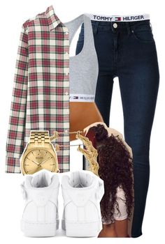 """""""722"""" by tuhlayjuh ❤ liked on Polyvore featuring мода, Acne Studios, Topshop, Uniqlo, NARS Cosmetics, Bulova и NIKE"""