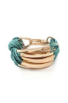 Bobby Bracelet in Turquoise.                                                                                                                                                                                 More