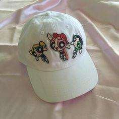 Powerpuff Girls Baseball Cap / Hat Retrovibesshop.bigcartel.com