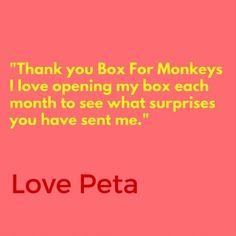 More lovely words from lovely monkeys.  #winning