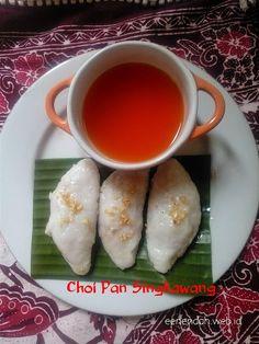 Choi Pan, salah satu kuliner Pontianak, khas Singkawang. Kue yang sangat terkenal berasal dari masyarakat Cina di sana.   Gegara...lihat g...