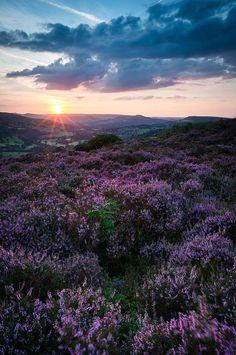 Surprise View Sunset, Peak District, England