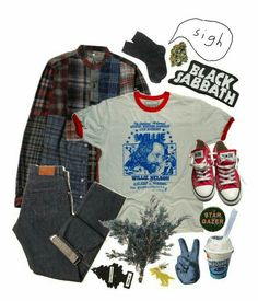 aesthetically - get a fashion sense - Wattpad Hipster Outfits, Edgy Outfits, Retro Outfits, Grunge Outfits, Grunge Fashion, 90s Fashion, Vintage Outfits, Cool Outfits, Fashion Outfits