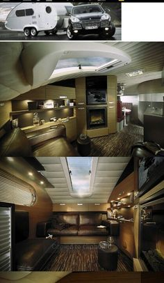 Luxury teardrop trailer