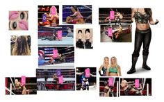 """Leah vs. Dana at Tribute To The Troops"" by thefuturemrsambrose ❤ liked on Polyvore featuring WWE and CENA"
