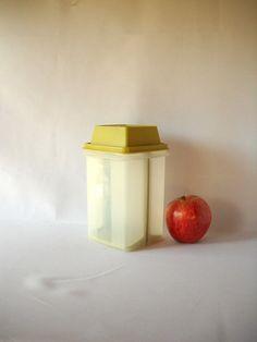 Vintage Tupperware Pickle Keeper Container Avocado by VintageEye, $16.00