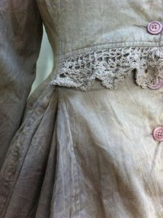 Vintage Crocheted Lace Edging