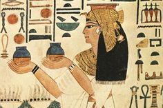 Depilación egipcia.