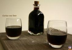 Liquore di mirto fatto in casa.Nel mese di dicembre sono stata alla Fiera dell'artigianato e ho visitato il padiglione della sardegna
