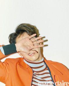 CNBlue's Lee Jung Shin for Marie Claire Korea February Photographed by Ahn Sang Mi Blue Lee, Cn Blue, Kang Min Hyuk, Lee Jong Hyun, Jung So Min, Lee Min Ho Photos, Lee Jung, Korean Entertainment, Celebrity Dads