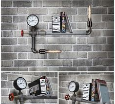 nenart Raw 1010 Termometreli Boru Retro Raf Lamp