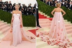 Blake Lively in Burberry - Best Dressed at the 2016 Met Gala - Photos