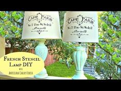 ▶ Add French Flair to Old Lamps with Mark Montano - YouTube