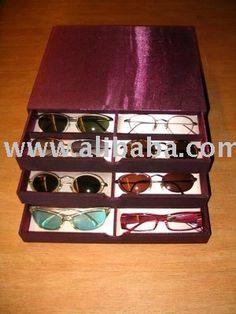 4771f25c35 Organizador de lentes Organizadores De Carton, Anteojos, Bandejas, Lentes,  Gafas, Bonita
