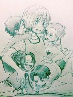 Snk Armin's daycare