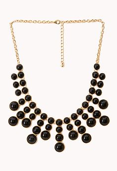 Bold Bauble Bib Necklace   FOREVER21 - 1000129427