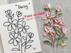 Cake desing ideas easy frosting techniques ideas for 2019 Cake Decorating Techniques, Cake Decorating Tutorials, Cookie Decorating, Bolo Floral, Cupcake Cakes, Cupcakes, Frosting Techniques, Buttercream Flower Cake, Cake Online