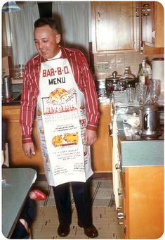 Oh boy! it's a BBQ — 1955