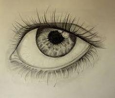 Resultado de imagem para olhos desenhados a grafite