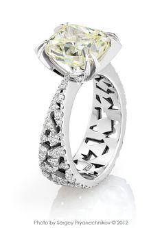 Фото Ювелирных изделий с бриллиантами. Ювелирный постер. Diamond Jewelry. c648d209a1f