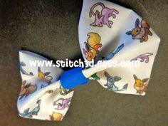 Eevee eeveelutions Pokemon hair bow