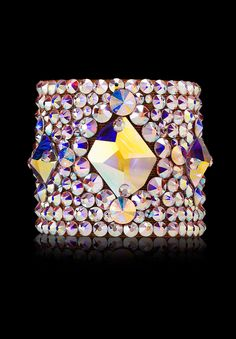Bettina Rhinestone Bracelet HJ302 CAB | Dancesport Fashion @ DanceShopper.com