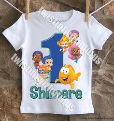 Boys Bubble Guppies Birthday Shirt | Bubble Guppies Birthday Party Ideas | Birthday Party Ideas for Boys | Bubble Guppies First Birthday | Twistin Twirlin Tutus #bubbleguppiesbirthday